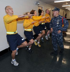 Something tells me this dude's a drill sergeant... By Scott A Thornbloom/U.S. Navy via Wikimedia Commons.