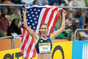 Lolo Jones  Via Wikimedia Commons, courtesy of Eric van Leeuwen